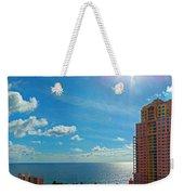 Fort Lauderdale Ocean View Weekender Tote Bag