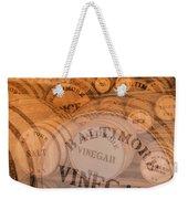 Fort Macon Ration Barrels Weekender Tote Bag