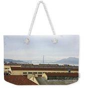 Fort Mason And Golden Gate Bridge Weekender Tote Bag