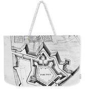 Fort Pitt, 1761 Weekender Tote Bag