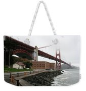 Fort Point And Golden Gate Weekender Tote Bag