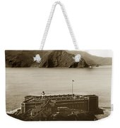 Fort Point And The Golden Gate San Francisco Circa 1890 Weekender Tote Bag