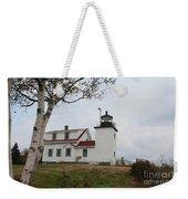 Fort Point Lighthouse 9239 Weekender Tote Bag