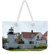 Fort Point Lighthouse Weekender Tote Bag