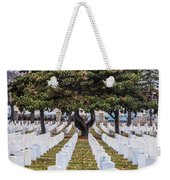 Fort Snelling National Cemetery Weekender Tote Bag