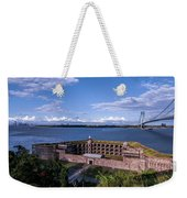 Fort Wadsworth Weekender Tote Bag