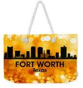 Fort Worth Tx 3 Weekender Tote Bag