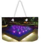 Fort Worth Water Garden Aerated Pool Weekender Tote Bag