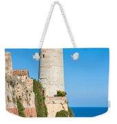 Forte Stella Lighthouse - Portoferraio - Elba Island Weekender Tote Bag
