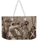 Forward March Weekender Tote Bag