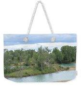 Fossil Prairie Panoramic Weekender Tote Bag