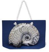 Fossilized Ammonite Weekender Tote Bag