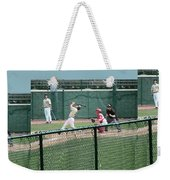 Foul Ball 3 Panel Composite Weekender Tote Bag