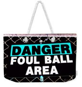 Foul Ball Area Weekender Tote Bag