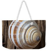Found Sea Shell Weekender Tote Bag by Garry Gay