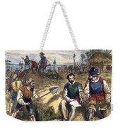 Founding Of St Weekender Tote Bag