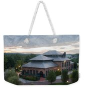 Foundry Building In The Morning Weekender Tote Bag