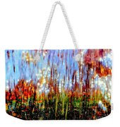 Water Fountain Abstract 3 Weekender Tote Bag