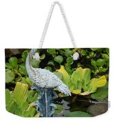 Fountain Among Lilies Weekender Tote Bag