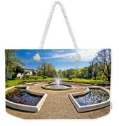 Fountain And Park In Zagreb Weekender Tote Bag