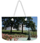 Fountain At Capitol Square  Weekender Tote Bag