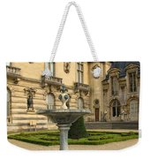 Fountain At Chateau De Chantilly Weekender Tote Bag