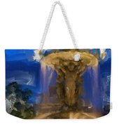 Fountain At Dusk Weekender Tote Bag