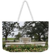 Fountain At Nottoway Weekender Tote Bag