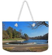 Fountain At Wachusett Dam Weekender Tote Bag
