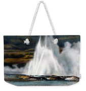 Fountain Geyser Yellowstone Np Weekender Tote Bag