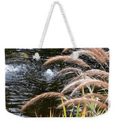 Fountain Grass Weekender Tote Bag