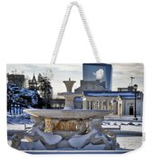 Fountain In Repose Weekender Tote Bag