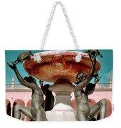 Fountain Of The Tortoises Ringling Museum Sarasota Weekender Tote Bag