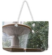 Fountain Of Yewts Weekender Tote Bag