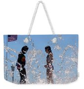 Fountain Of Youth Weekender Tote Bag by Karen Wiles