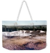 Fountain Paint Pot Yellowstone National Park Weekender Tote Bag