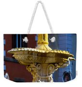 Fountain Piazza Farnese Weekender Tote Bag