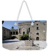 Fountain  - Rhodos City Weekender Tote Bag
