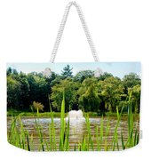 Fountain Side Weekender Tote Bag by Greg Fortier