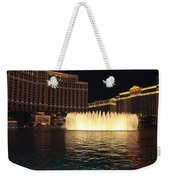 Fountain Vegas Weekender Tote Bag