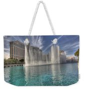 Fountains Of Paradise Weekender Tote Bag