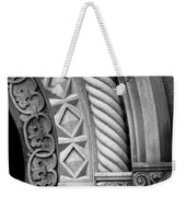 Four Arches Weekender Tote Bag by Inge Johnsson