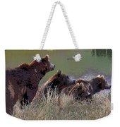 Four Bears Weekender Tote Bag