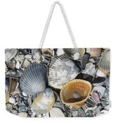 Four Beautiful Shells Weekender Tote Bag
