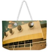 Four By Sea Vintage North Shore Yacht Club Salton Sea Weekender Tote Bag