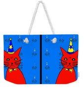 Four Cats Weekender Tote Bag