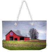 Four Corners Quilt Barn Weekender Tote Bag by Cricket Hackmann