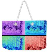 Four Crabs Under The Sea Weekender Tote Bag