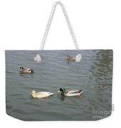 Four Ducks Weekender Tote Bag