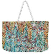 Four Expressionist Cats Weekender Tote Bag